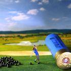 Der Golfspieler