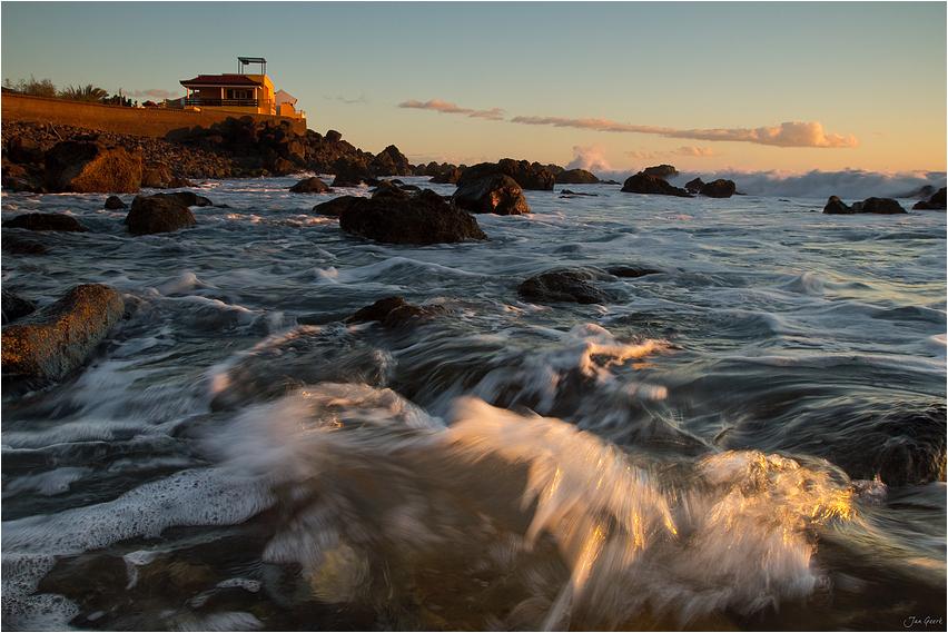 Der Griff der Welle