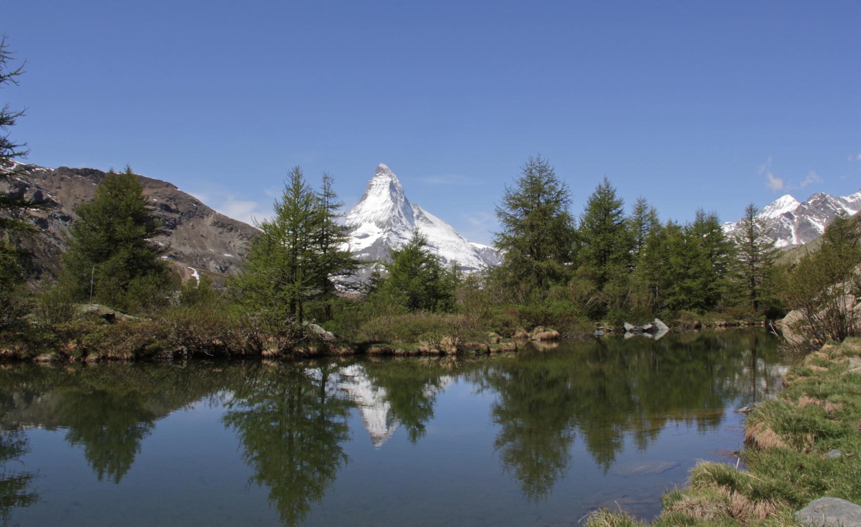 Der Grindjisee (2'324 m)