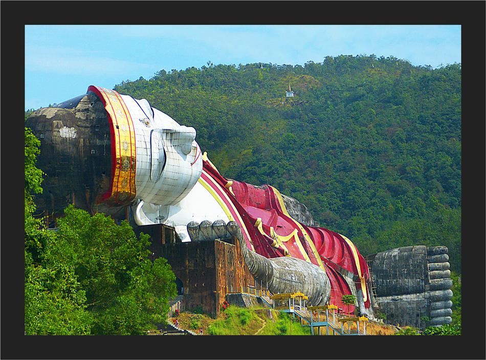 Der grösste Buddha der Welt