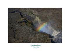 Der größte Wasserfall Islands, der Dettifoss