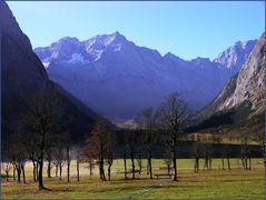 Der große Ahornboden im Karwendel