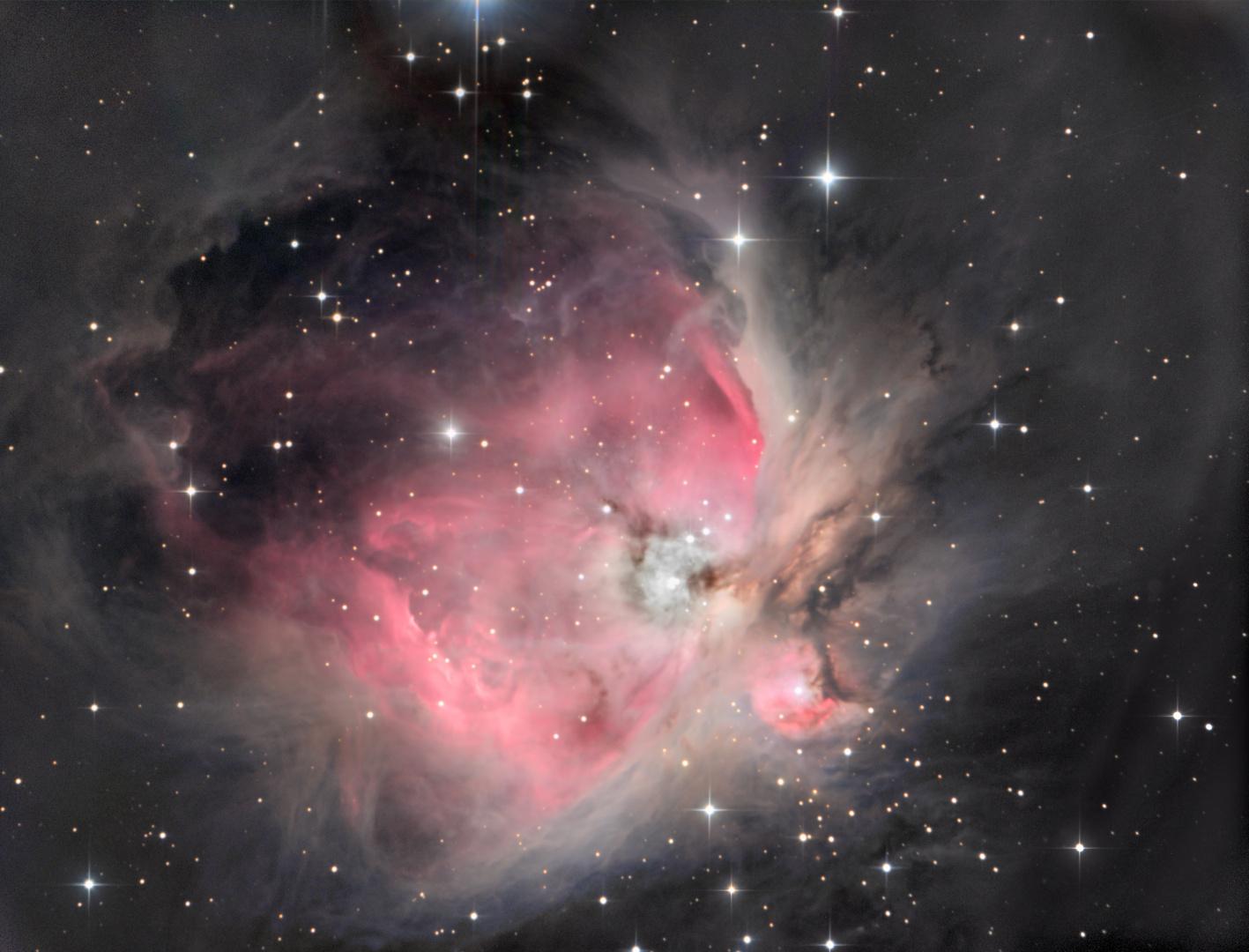 Der große Orionnebel M42