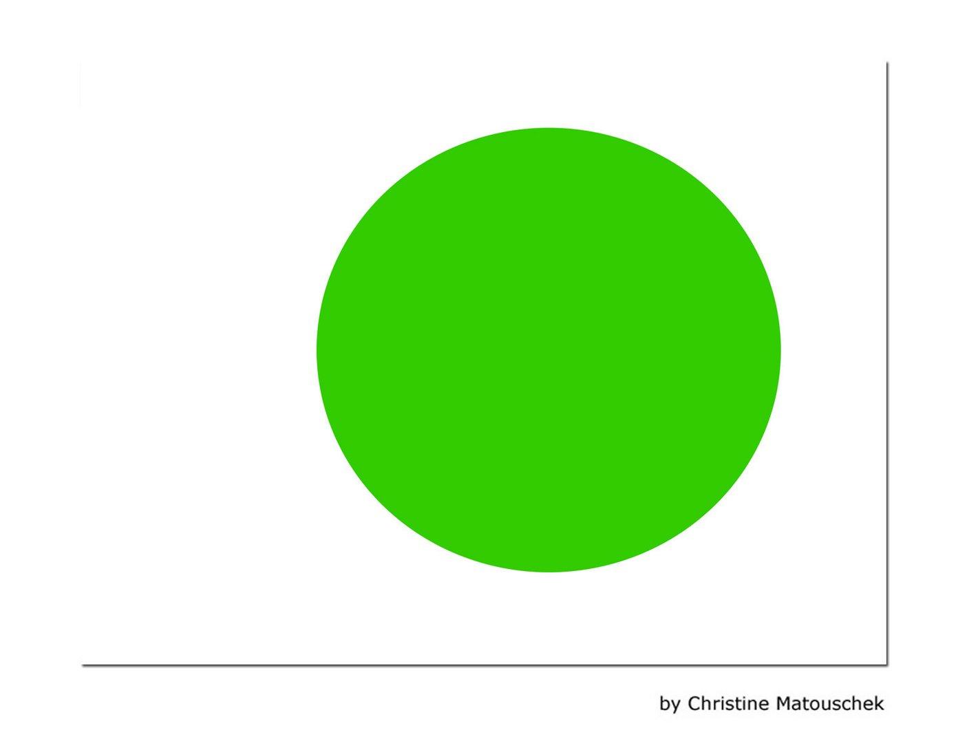 Der Grüne Punkt Foto & Bild | abstraktes, formen, motive