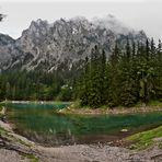 Der Grüne See bei schlechtem Wetter!