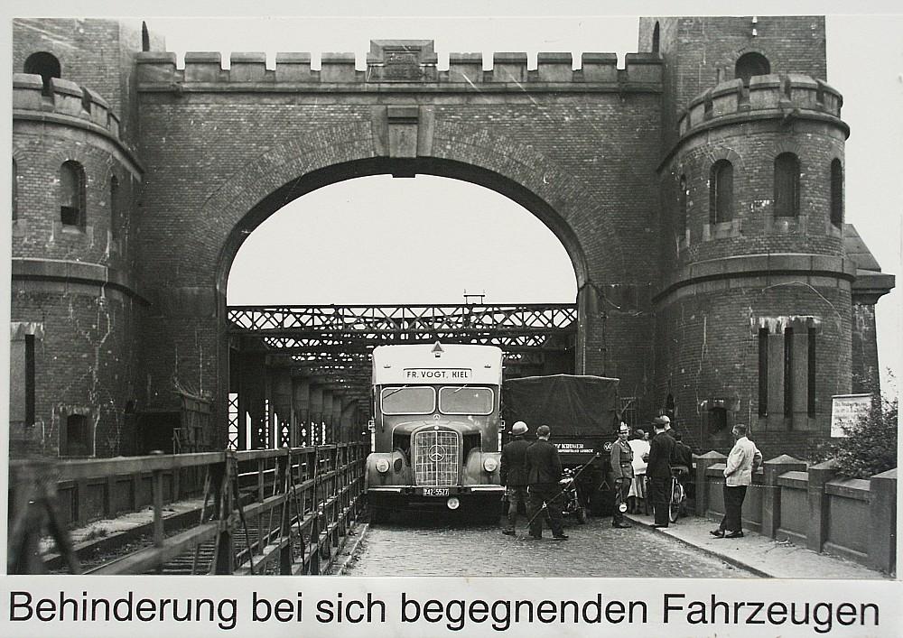 Der Grund für den Umbau 1953/54
