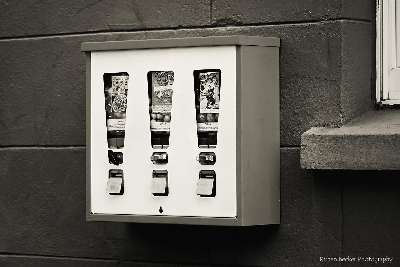 Der gute alte Kaugummiautomat