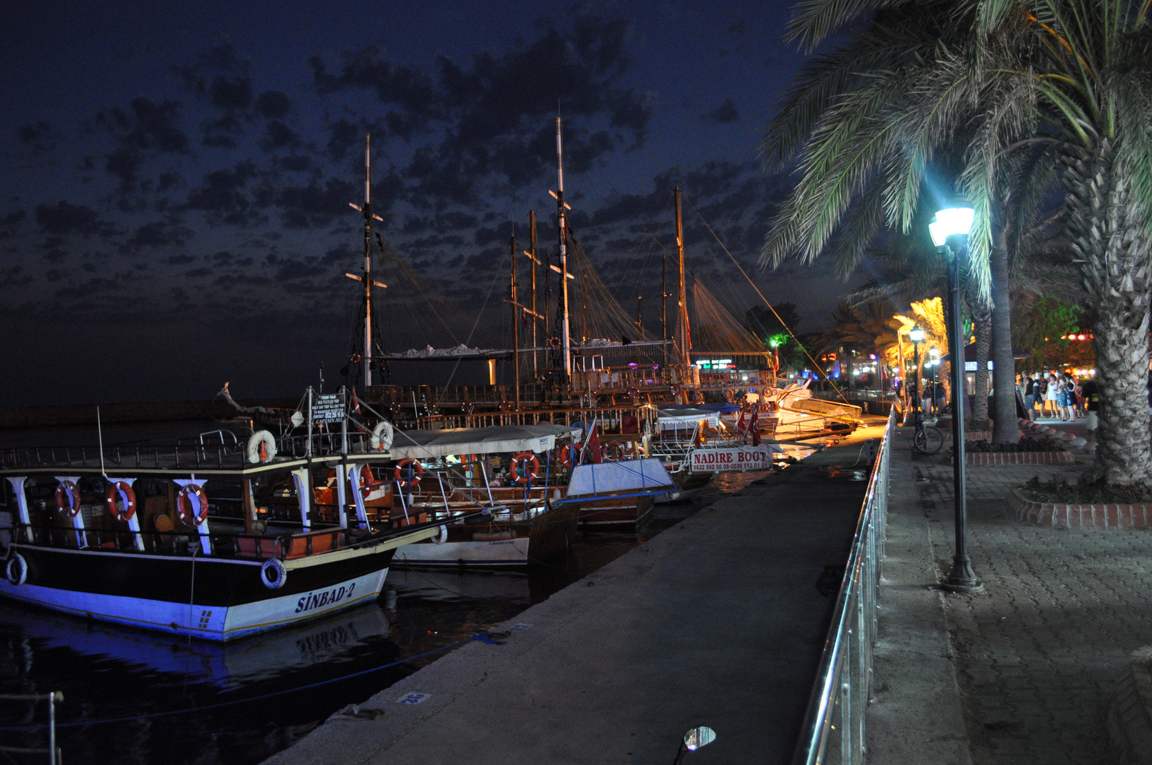 Der Hafen in Side