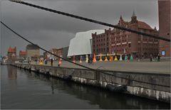 Der Hafen in Stralsund ...