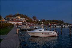 Der Hafen von Altefähr