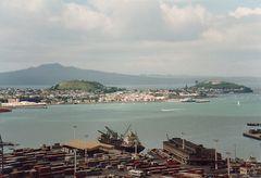 Der Hafen von Auckland/ Neuseeland