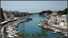 Der Hafen von Ciutadella