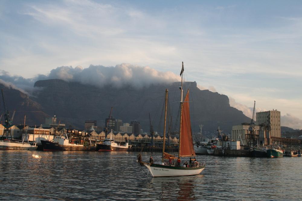 Der Hafen von Kapstadt