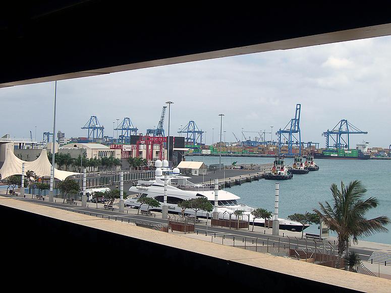 Der Hafen von Las Palmas (Puerto de la Luz)
