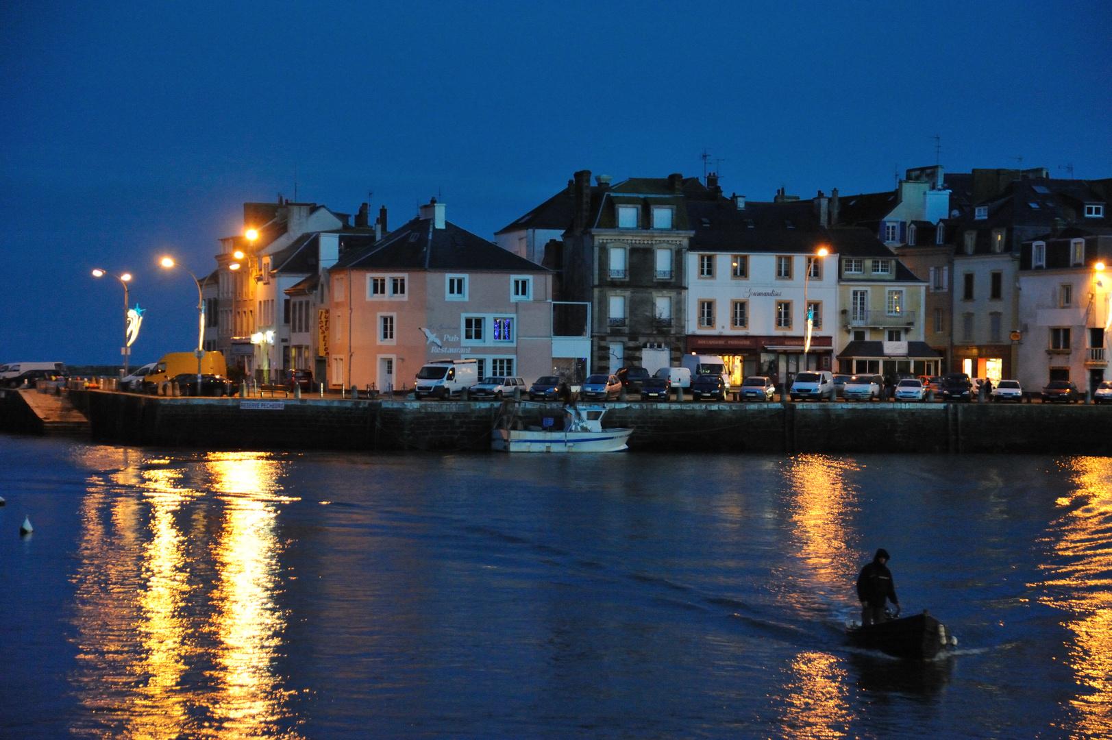 Der Hafen von Le Palais auf Belle Ile, Bretagne