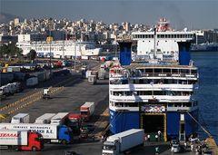Der Hafen von Piräus