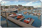 Der Hafen von Salem, Massachusetts