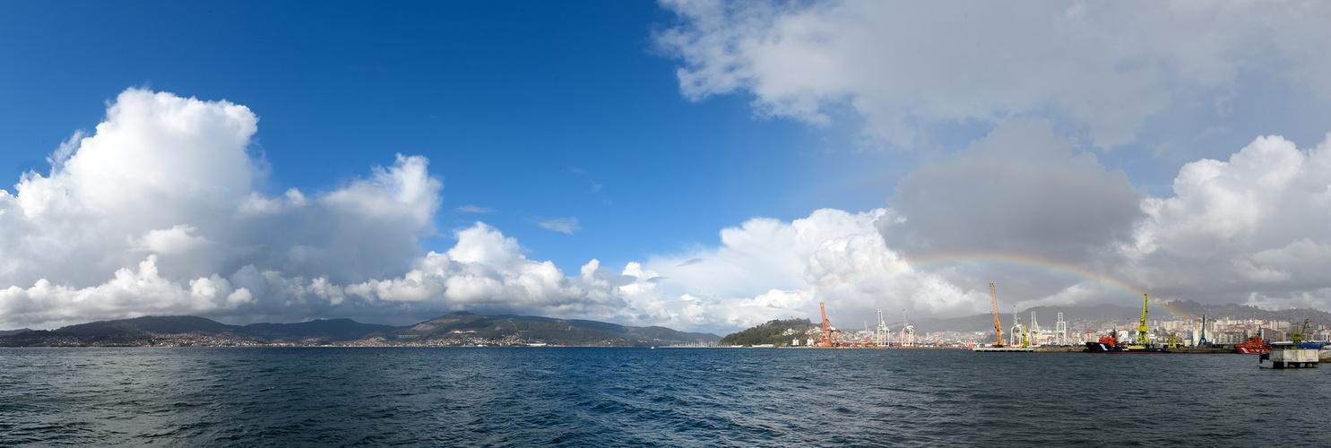 Der Hafen von Vigo