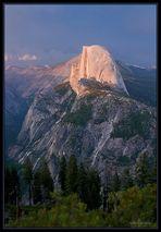 """Der """"Half Dome"""" im Yosemite-NP"""