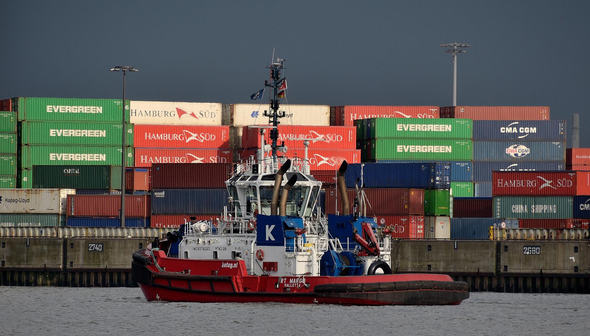 Der Hamburger Hafen hat viele Farben