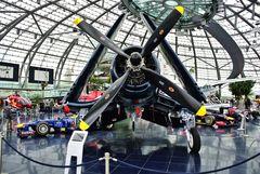 Der Hangar 7 im Flugplatz Salzburg