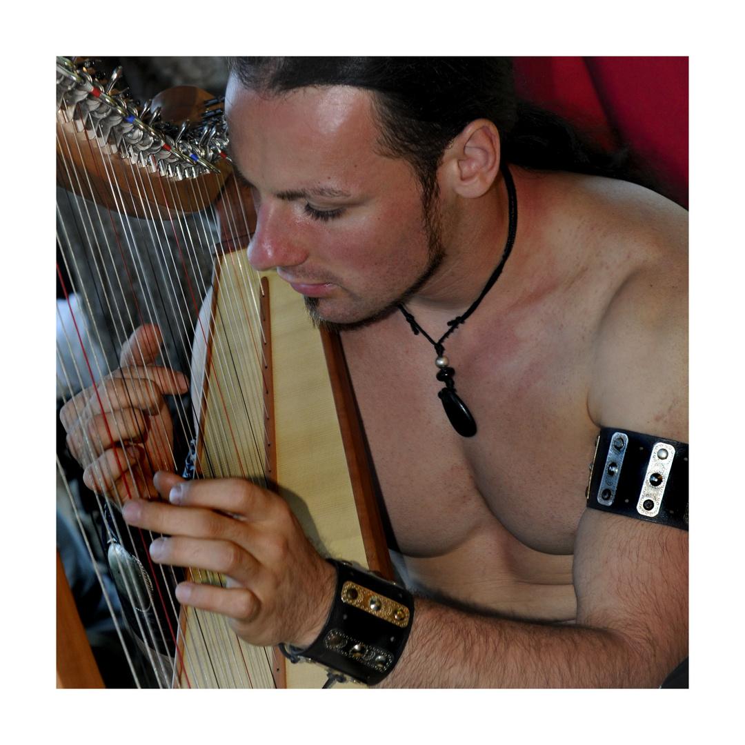 Der Harfe-Spieler