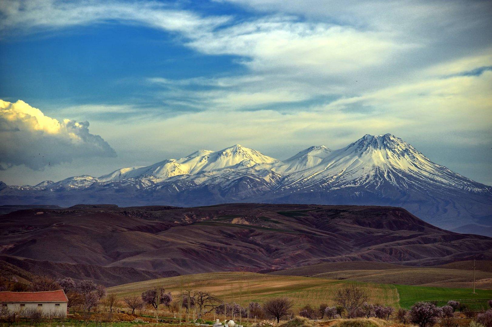 Der Hasan Dag Vulkan bei Aksaray