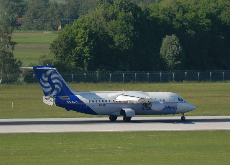 Der hat den A.... offen :-) OO-DJH Brussels Airlines British Aerospace BAe 146-200