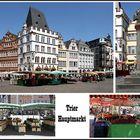 Der Hauptmarkt von Trier soll einer der schönsten Plätze Deutschlands sein, ...
