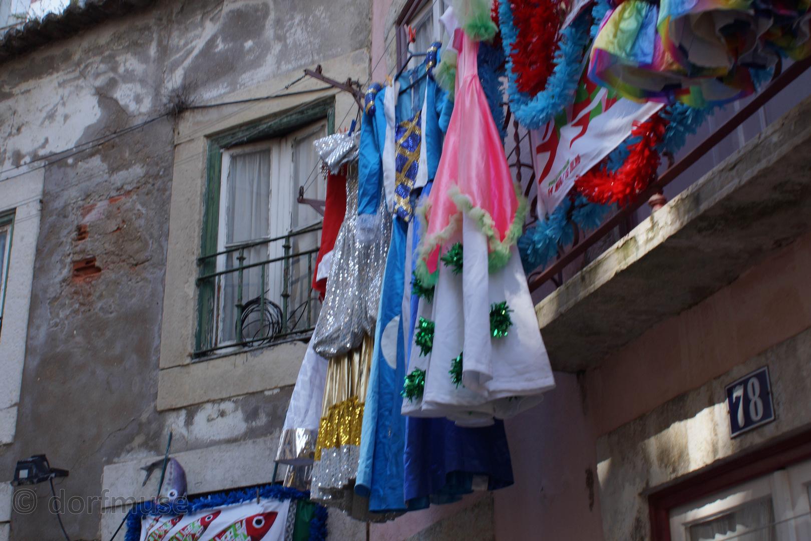 Der heilige Antonius mag's bunt - Lissabon 2014