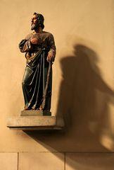 Der Heilige Judas Thaddäus mit Knüppel