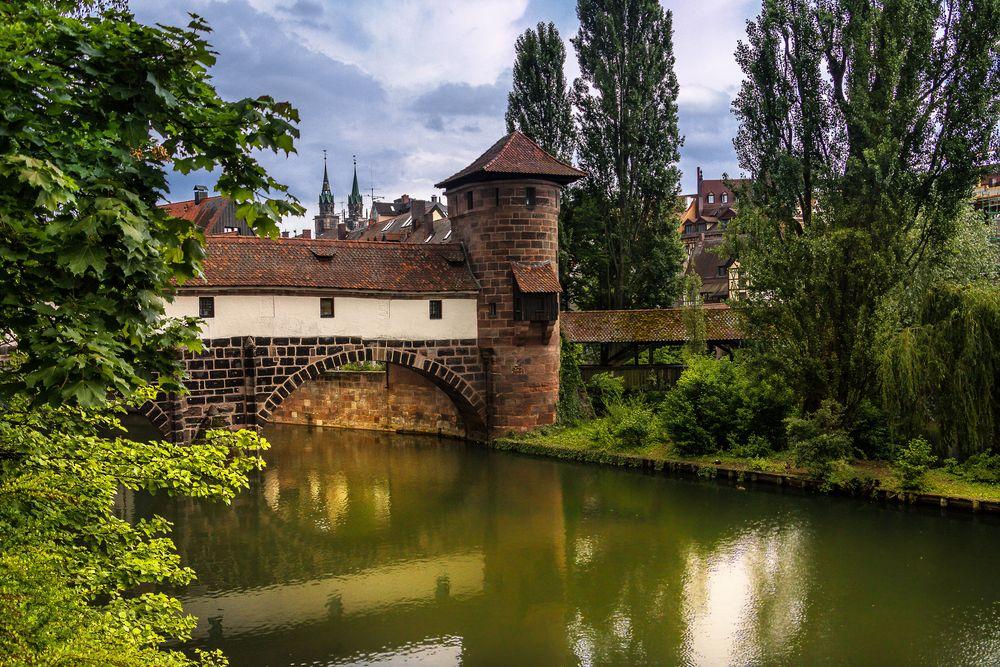 Der Henkersteg in Nürnberg
