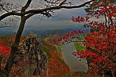 Der Herbst in der sächsischen Schweiz