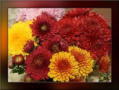 Der Herbst in der Vase