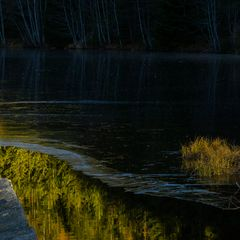 Der Herbst wandelt schon auf dünnem Eis.