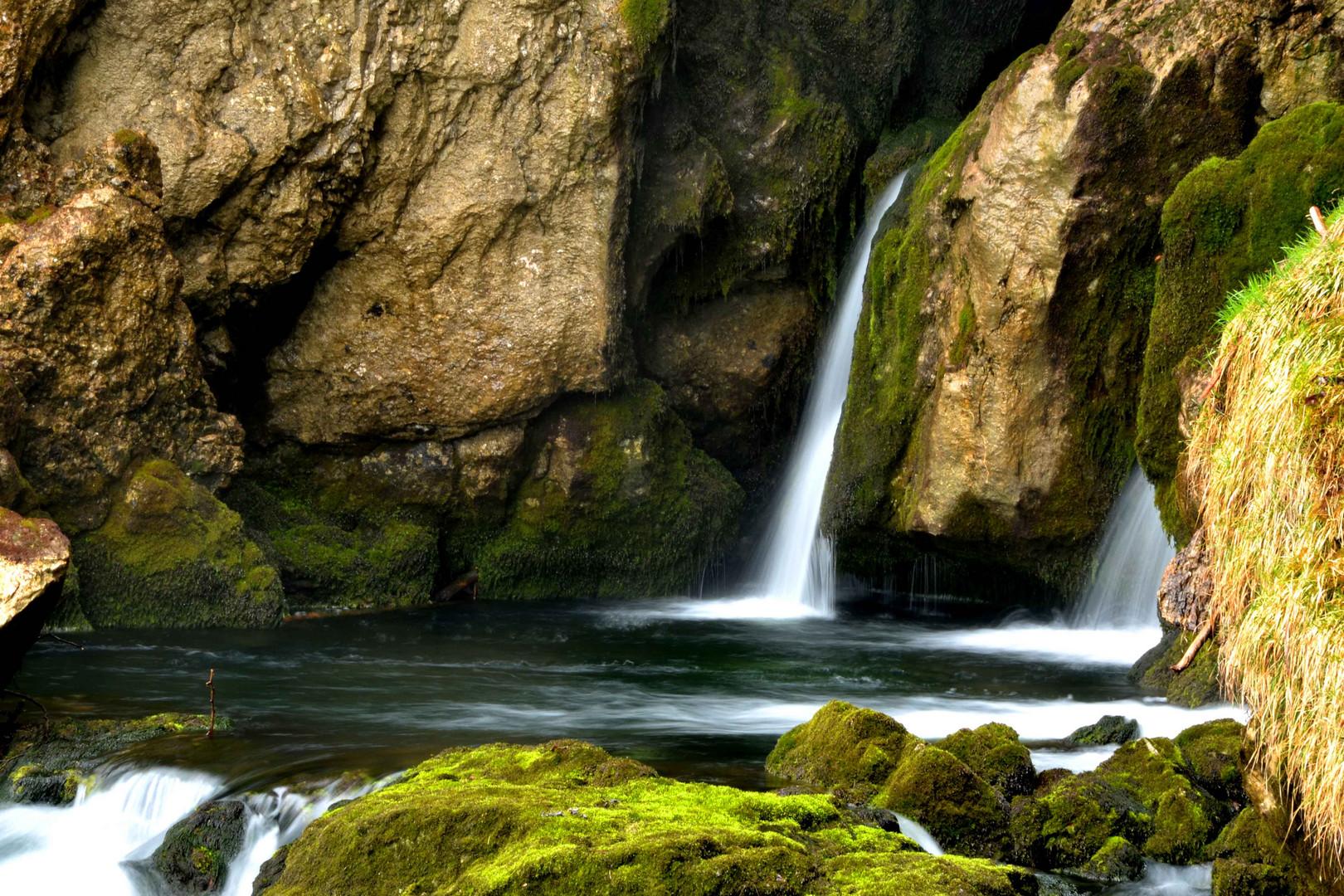 Der Hexenkessel am Gollinger Wasserfall
