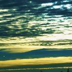 der Himmel am heutigen Morgen