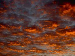 Der Himmel brennt!