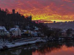 der Himmel brennt über Wertheim