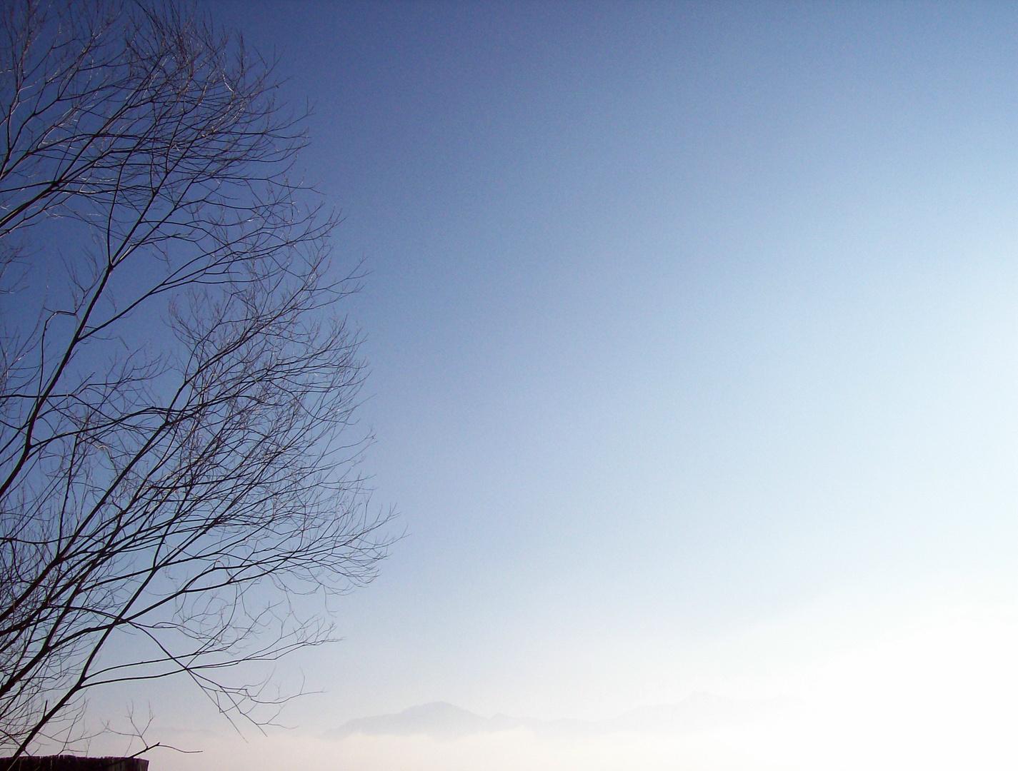 Der Himmel im Winter