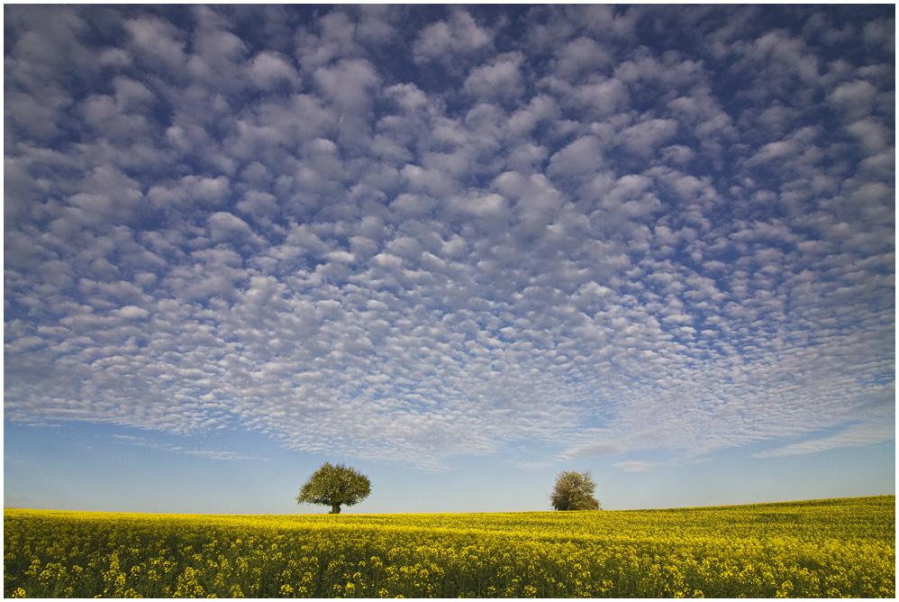 Der Himmel über dem Kraichgau