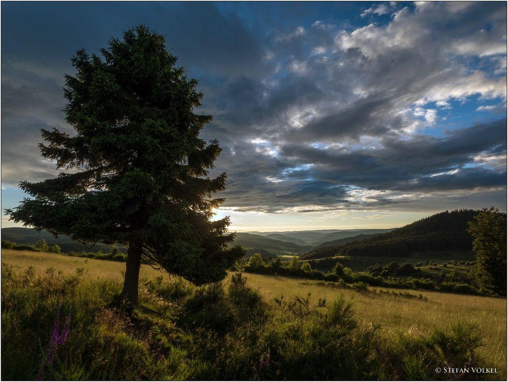 Der Himmel über dem Wittgensteiner Land