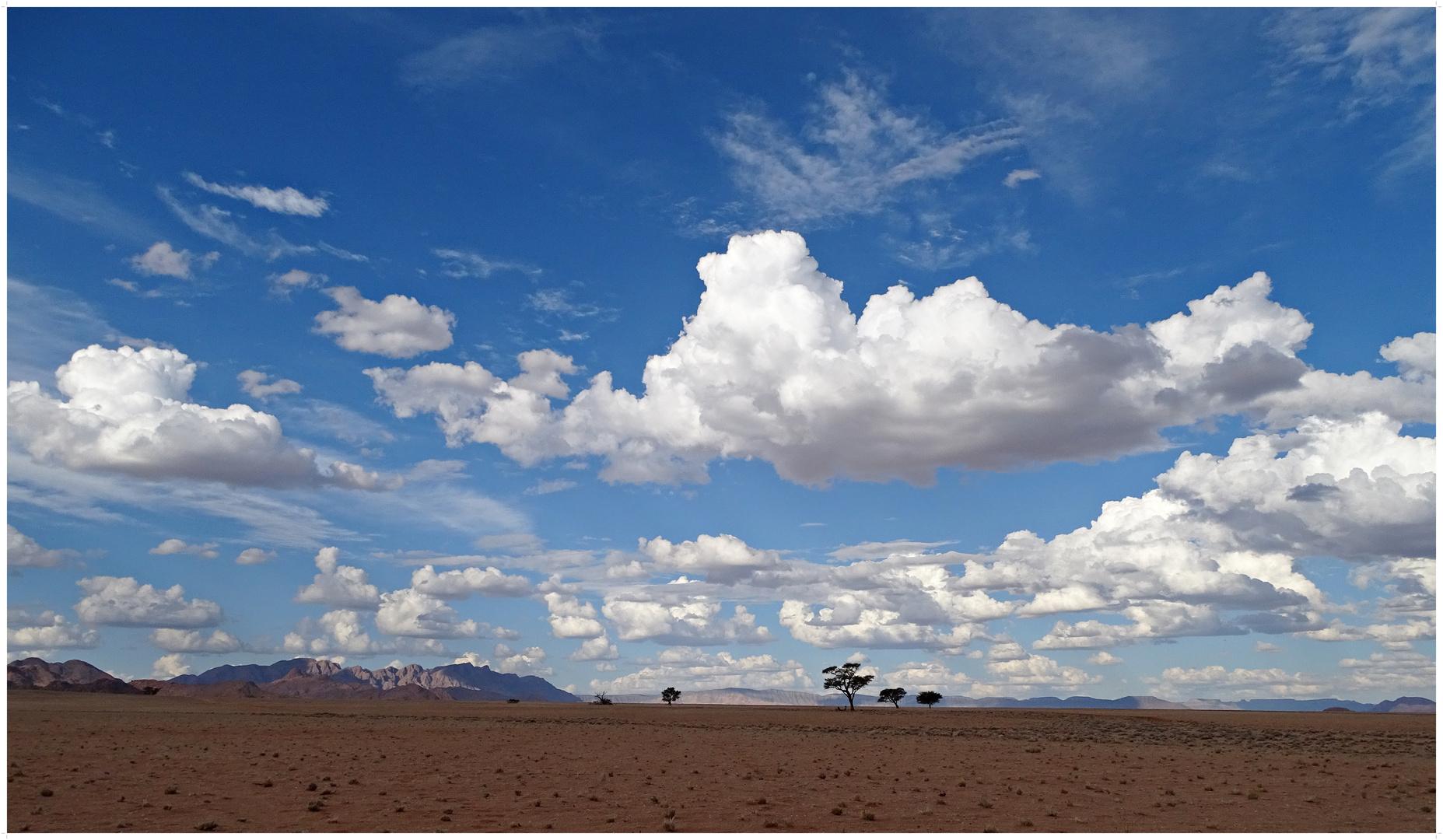 Der Himmel über der Wüste