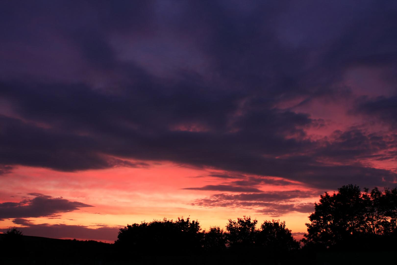 Der Himmel über Deusen...
