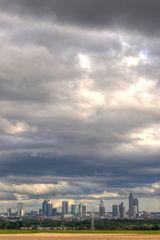Der Himmel über Frankfurt