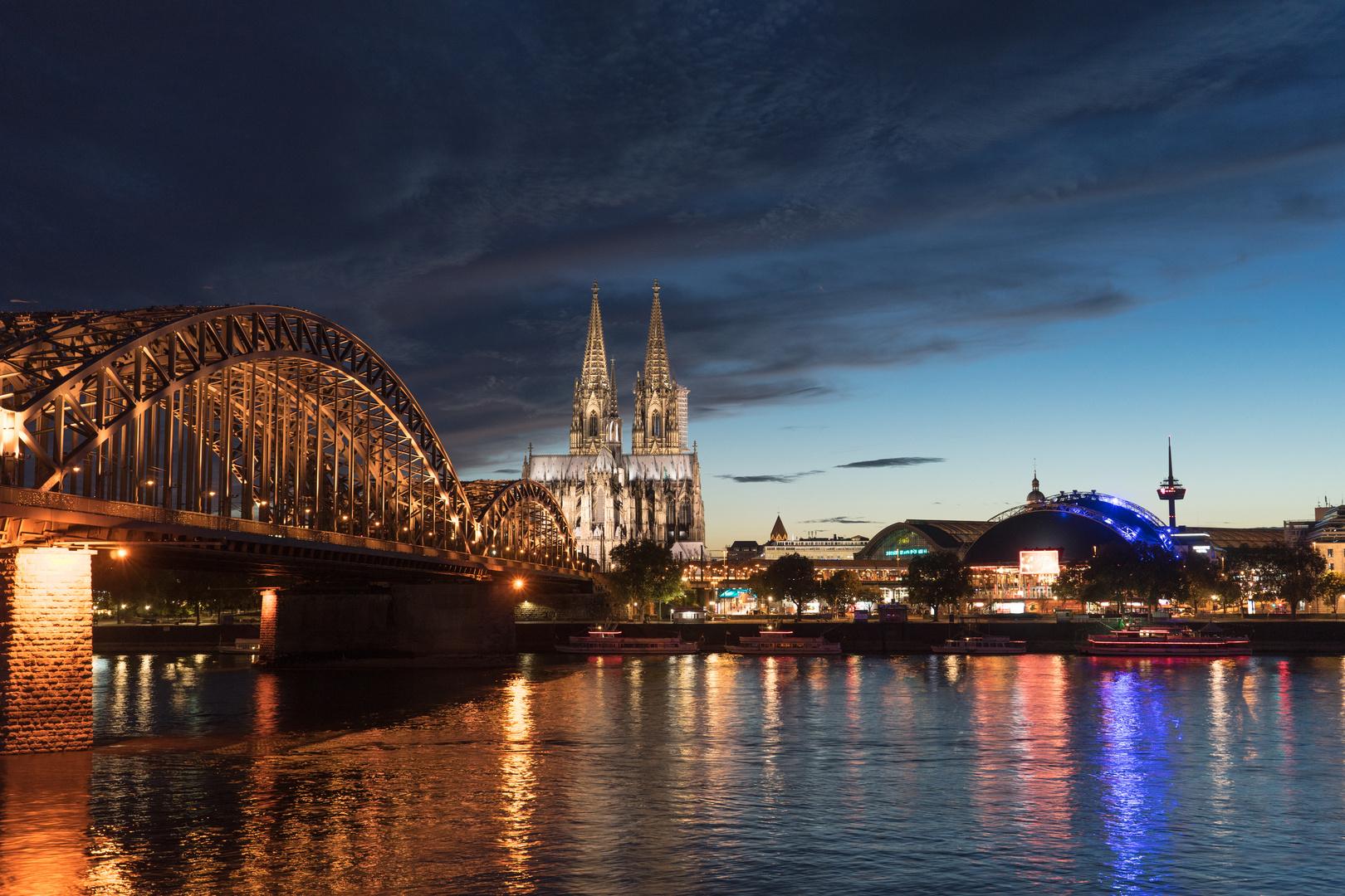 Der Himmel über Köln