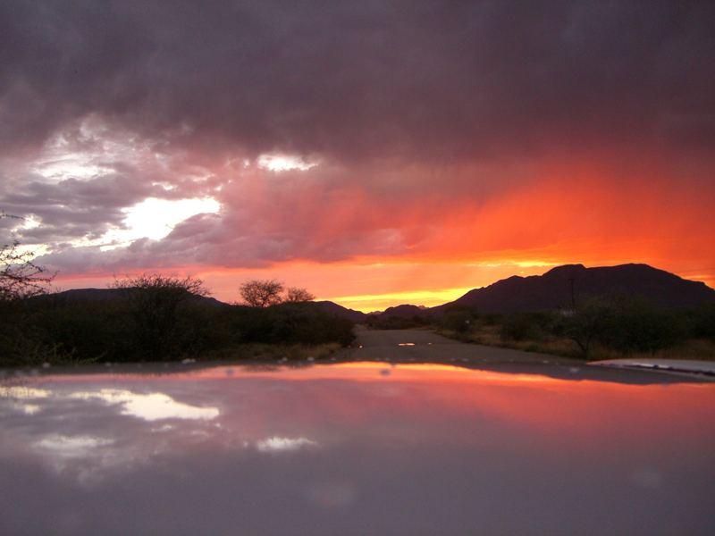 Der Himmel über Nambia