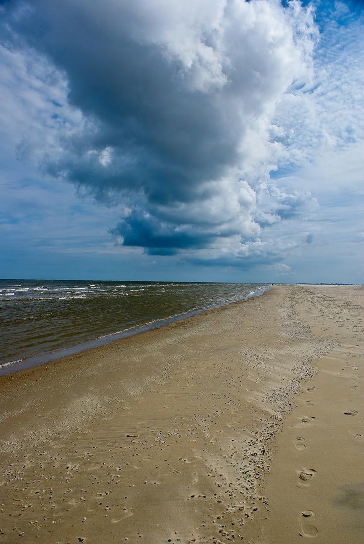 Der Himmel über Norderney...
