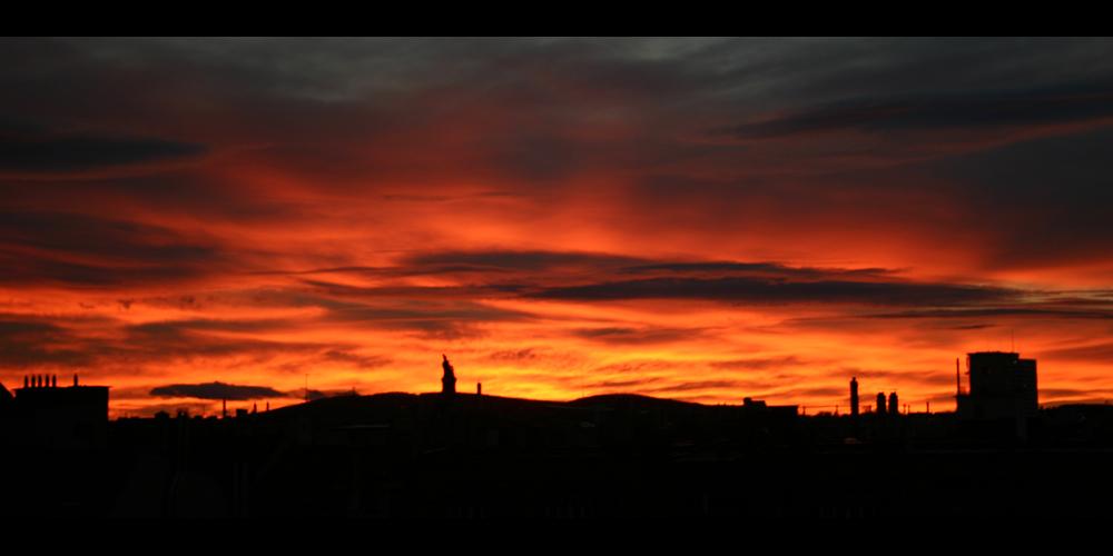 Der Himmel über Wien (20.01.2008)