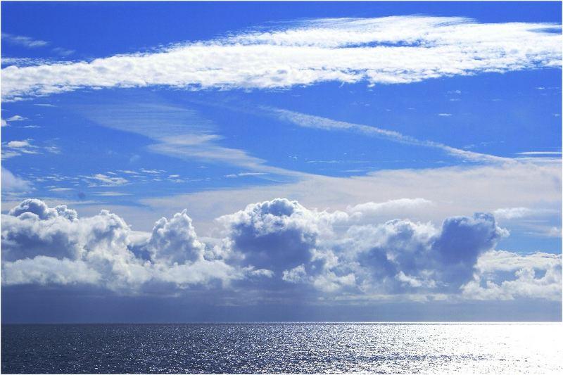 Der Himmel vor Madeira...